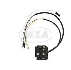 Schalterkombination 8626.19/9 + 19/10 kompl. m. Kabel - 12Volt - ohne Lichthupe - Roller SR50, SR80
