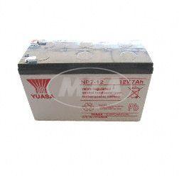 Batterie 12V/7,2AH (LCR12V7,2) verschlossen