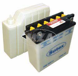 Batterie 12N5-3B SOTEX (incl. SÄUREPAKET im Einzelkarton) Roadstar, Sportstar 125 Saxon Tour, Fun 251,301, SR50, 80