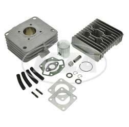 SET RESO-LT60 - 2-Kanal-Tuningzylinder (60ccm) aus Aluminium mit Beschichtung - mit Ø42mm-Tuningkolben, Dichtsatz + Tuningzylinderkopf