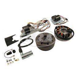 SET Umrüstsatz VAPE (M-G-V) S50, S51, S70 auf 12V 35/35W (ohne Batterie, Hupe und Leuchtmittel)