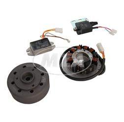 SET Umrüstsatz VAPE (M-G-V) S50, S51, S70 auf 12V 35/35W (ohne Klein- und Anbauteile - nur einzelne Zündungskomponenten im Set!)