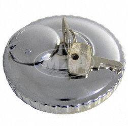 Tankdeckel D 60  verschliessbar  MZ ETZ  (hochglanzverchromt)