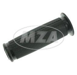 Gummigriff (Muffe) - Links - zum Schaltdrehgriff SR1, SR2, SR2E, KR50, SR4-1 - schwarz - Ø26mm - mit Bund - Seite offen