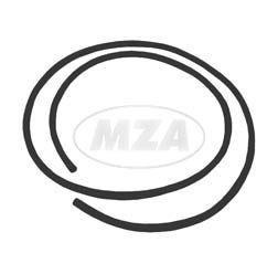 Köder/ Keder für Frontschild und Locheinfassung, schwarz - Schwalbe KR51  (Fahrzeuggesamtlänge 1,10m)