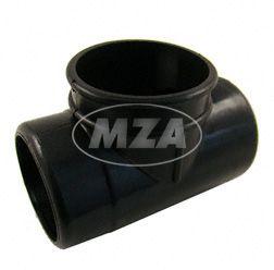 Ansauggeräuschdämpfer benzinfest KR51, SR4-1, SR4-2 (Gummi, Muffe Auslaß mit großen Durchmesser, NKJ Vergaser, Bj. 64-68)
