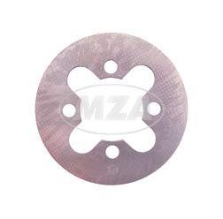 Kupplungslamelle, Kupplungsscheibe - Stahl  2,0 mm - Simson Motor M52, M53, M54
