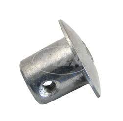 Abschlußpilz, Abschlussstopfen, Abschlußkappe für Festgriff, Lenkerrohr, links, passend für MZ und AWO