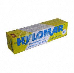 Dichtmasse HYLOMAR M - dauerelastisch - Universell verwendbar (dauerhaft bis 250 Grad einsetzbar, beständig gegen Öl, Benzin, Wasser etc)  80ml Tube inkl. Dosiertülle