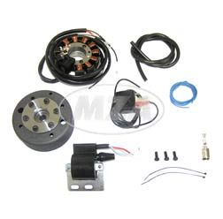 Lichtmagnetzündanlage 12V 70W mit integrierter vollelektronischer Zündung für SR1, SR2, SR2E, KR50
