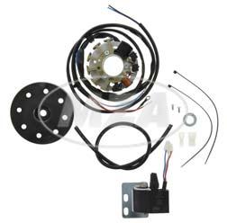 Alternateur, allumage électronique 6V / 18W AC - adapté pour moteur auxiliaire MAW