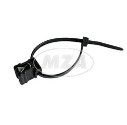 Befestigungsbinder T3OREC4A - Schlauchhalter -  für Kanten von 1,0- 3,0mm mit Binder (Länge 120mm)
