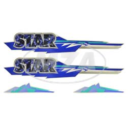 Klebefolien Set 1 Star 50
