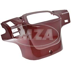 Instrumentengehäuse lack. rubinrot metalic
