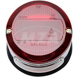 Bremsschlusskennzeichenleuchte BSKL 8522.7, verchromtes Gehäuse - TR150