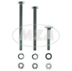 Normteile-Set für Motorlager-Motorbefestigung - für S50, S51, S70