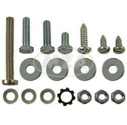 Normteile-Set S50, S51, S70 - Gehäusemittelteil (Seitendeckel, Hupe, Schließhaken, Batteriehalter)