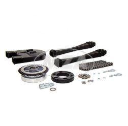 Kettenkit / Kettensatz mit Kleinteilen - S50 - Mitnehmer Z=34, Rollenkette 112 Glieder, Antriebskettenrad Z=14