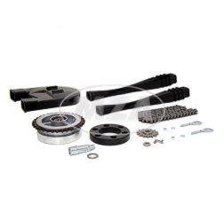 Kettenkit / Kettensatz mit Kleinteilen - Habicht SR4-4 - Mitnehmer Z=34, Rollenkette 110 Glieder, Antriebskettenrad Z=13