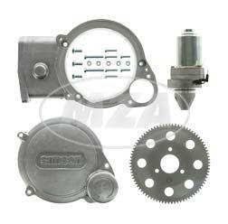 SET Elektrostarter, Anlasser für 12V-VAPE-Zündung - für Motoren M531-M743