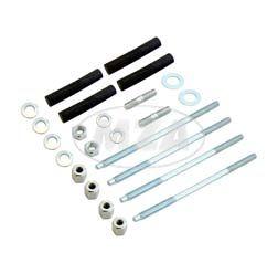 SET Zylindermontage Simson S51, S53 - Stehbolzen, Dämpfungsgummis, Anlaufscheibe 1,0mm, Kleinteile