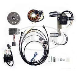 Lichtmagnetzündanlage 12V/ 150W - passend für BMW R50/2, R50S, R50US, R60/2, R60US, R69S, R69US mit 17mm-KW