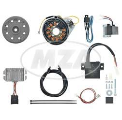 Lichtmagnetzündanlage 12V 190W - passend für 2-Ventiler BMW /5 und frühe /6-Modelle