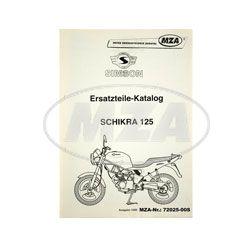 Ersatzteilkatalog Motorrad Schikra 125