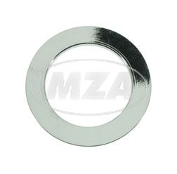 Flat washer, chromed - for plug screw, front fork screw connection for R35-3, fits EMW and AWO S
