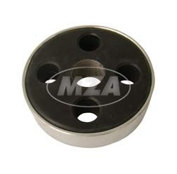 Carrier with chromed ring R35-3 (fits EMW)