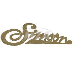 Klebefolie Simson weich gold