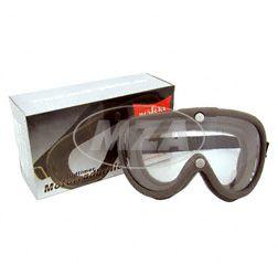 """Motorradschutzbrille - Original DDR Design MARKE: """"perfekt""""  - mit Ersatzscheibe, Einzelkarton"""
