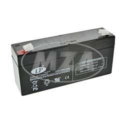 AGM-Batterie - Vlies - wartungsfrei - 6V 3,2 Ah