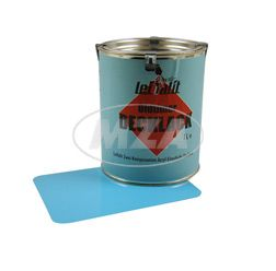 Lackfarbe Leifalit (Premium) Kristallblau 1l.