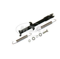 """Seitenstütze SC/TS 50 - Rad 1.85x16"""" - 16/16"""" Räder - schwarz pulverbeschichtet - zweifache Federeinhängung"""