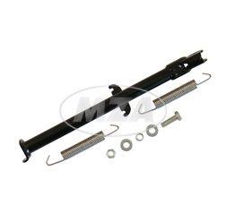 Seitenstütze - Simson MS50 (5 Gang-Sperber) f. 17/17 Zoll  Räder - schwarz pulverbeschichtet - zweifache Aufhängung