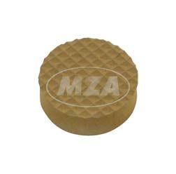 Verschlußplatte - Gummistopfen f. Lichtmaschinendeckel - bei Nichtverwendung des Tachoantriebes - M53 - M54