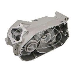 Gehäuse - Motorgehäuse Simson-Motor M541-543 (60km/h) - silbermetallic lackiert - gebohrt auf  Ø 46,1 mm für Standard-Zylinder