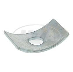 Crescent sheet for foot brake Bowdeb cable KR51/1