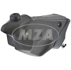 Kraftstoffbehälter mit Tankdeckel + Benzinhahn - f. Motorräder GS / SM (HRD)