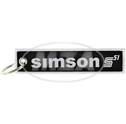 Stoff-Schlüsselanhänger - Motiv: SIMSON S51