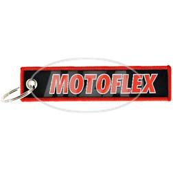 Stoff-Schlüsselanhänger - Motiv: MOTOFLEX - starke Bowdenzüge für Oldtimer