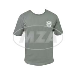 T-Shirt, Farbe: Grau, Größe: S - Motiv: SIMSON-Treffen Suhl