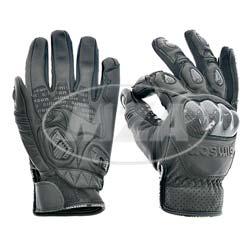 Motorradhandschuhe, schwarz, Größe: XL, Motiv: SIMSON