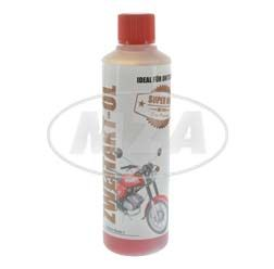 ADDINOL for on the go - MZ 405 2-Stroke engine oil, 2-stroke engine oil, red colored, mineral, 120ml can