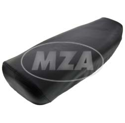 Sitzbankschonbezug - schwarz - glatt