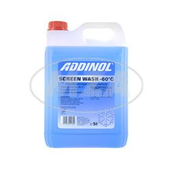 ADDINOL ScreenWash, anti freeze and window cleaner, apple scent, concentrate, til -75°C 5l jerrycan