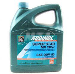ADDINOL PKW SAE 20 W50 Super Star MX2057, high-performance sports, mineral, 4 l canister