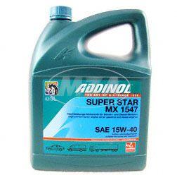 ADDINOL SAE 15W-40 Super Star MX1547, high-performance sport, mineral, 5 l can